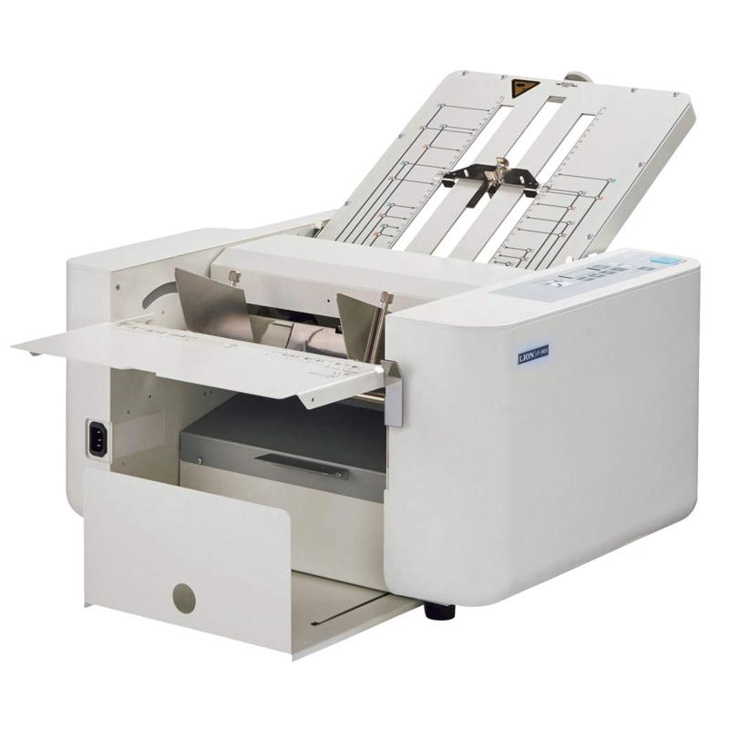 画像1: 自動紙折り機 [ライオン事務器製] (1)